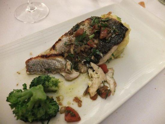 L'Orangerie: Grilled Sea Bass