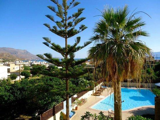 Hotel Kissamos: pool view!
