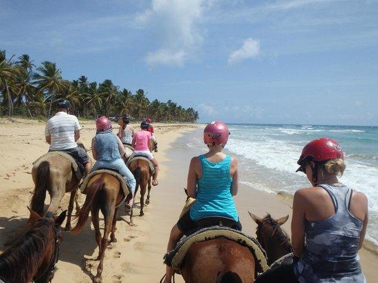 Excellence Punta Cana: Horseback riding!!!