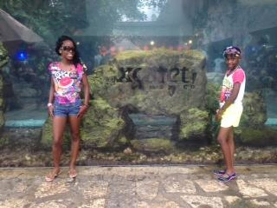 Paradisus Playa del Carmen La Perla : Xcaret Eco Friendly theme park, loved it!