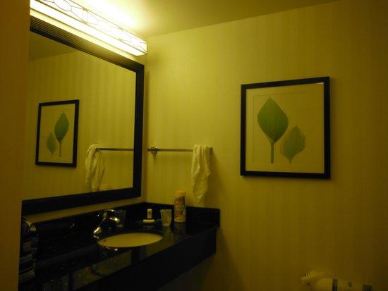 Fairfield Inn & Suites Raleigh-Durham Airport/Brier Creek: bathroom sink area
