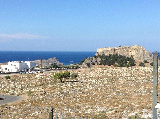 Lindian Myth Studios : view of acropolis