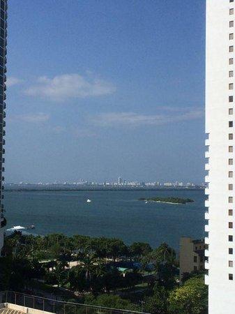 Hilton Miami Downtown : 5th floor view