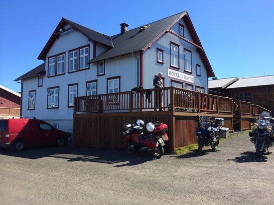 Hotel Framtid: Outside