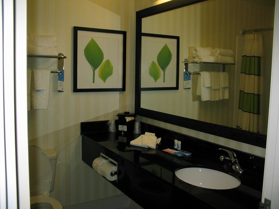 Fairfield Inn & Suites Toledo Maumee: bathroom