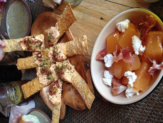 Husk Restaurant: Pimento cheese app