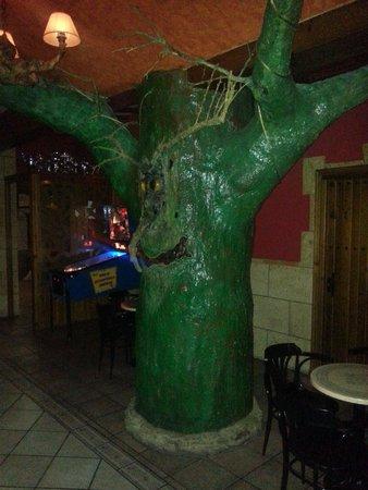 Riopar, Espanha: El árbol del barbol