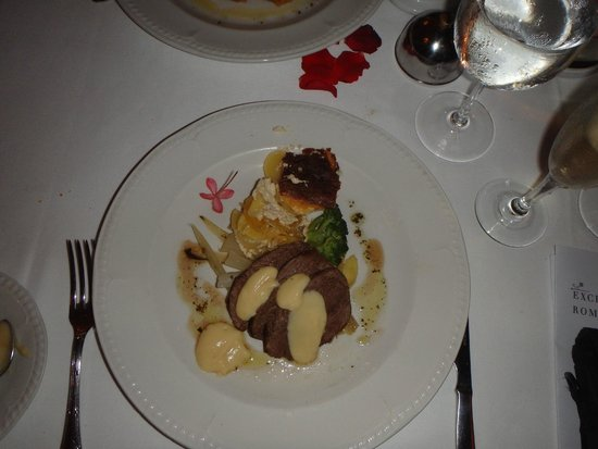 Excellence Punta Cana: Delicious dinner at Chez Isabelle