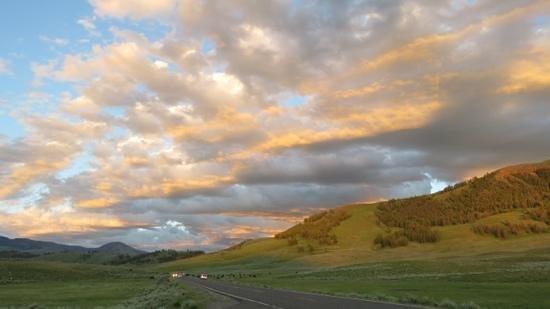 Roosevelt Lodge Cabins: Lamar Valley, beautiful!