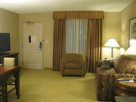 Lake Tahoe Resort Hotel: Living Room area