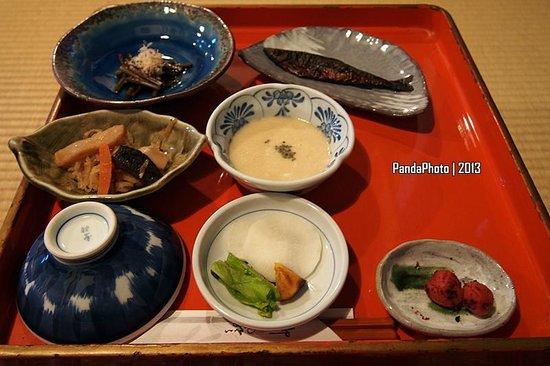 Tsuru no Yu Onsen: breakfast
