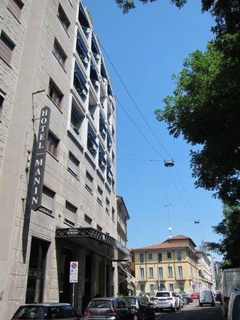 Hotel Manin: Street view