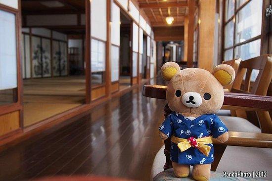 Tsuru no Yu Onsen: at the corridor