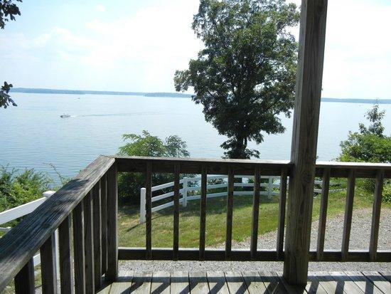 Lighthouse Landing Resort & Marina: view from deck