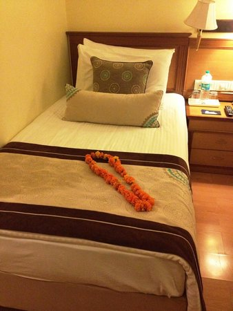 Jaypee Siddharth: Beds are a bit firm for my liking but nice anyway