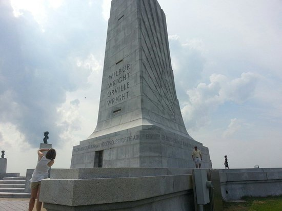 The Monument to a Century of Flight: Tower on the hill