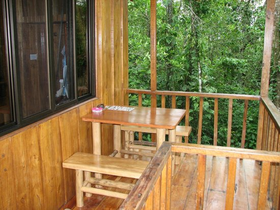 Tree Houses Hotel Costa Rica: Toucan porch