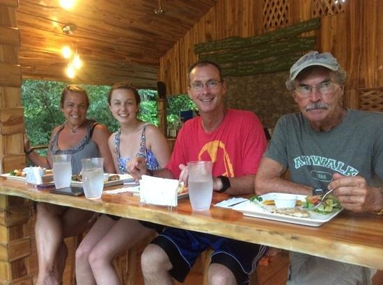 A visit to Drake Bay Cafe is a great way to finish to a day on the river.  Met great friends on