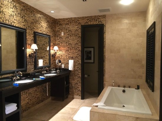 Hotel ZaZa Houston: One of Two Incredible Bathrooms - Fatal Charms