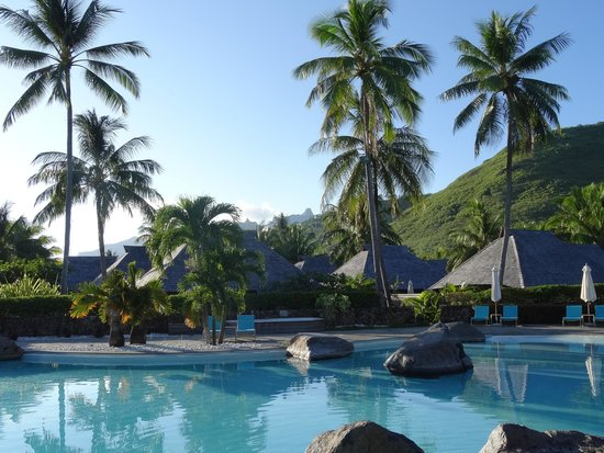 Hilton Moorea Lagoon Resort & Spa: Piscina