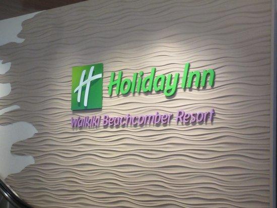 Holiday Inn Resort Waikiki Beachcomber: サイン