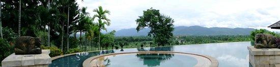 Anantara Golden Triangle Elephant Camp & Resort: View of Laos and Burma
