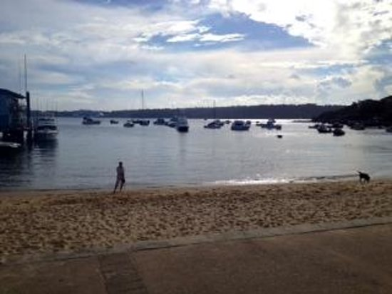 Beach Club at Watsons Bay Boutique Hotel: afternoon view