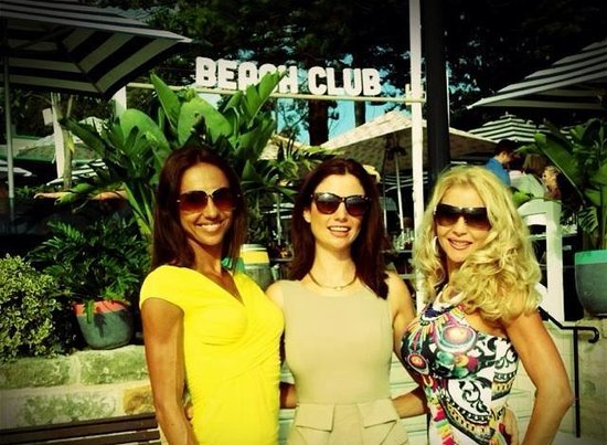 Beach Club at Watsons Bay Boutique Hotel: a great place to hang with friends