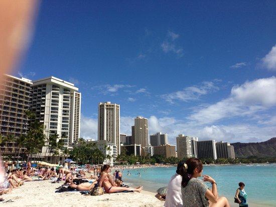 Sheraton Waikiki: waikiki beach