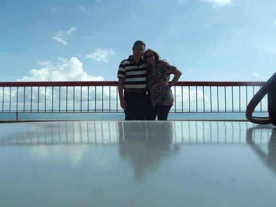Sol Victoria Marina : No deck do Hotel