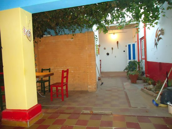 Huayra Sanipy: Inside patio area