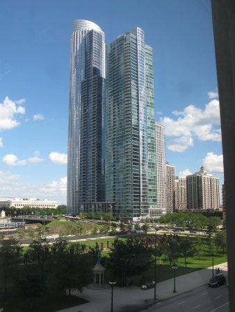 Best Western Grant Park Hotel : One of the views from the room
