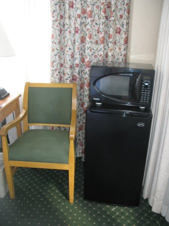 Best Western Grant Park Hotel : Fridge and microwave worked well