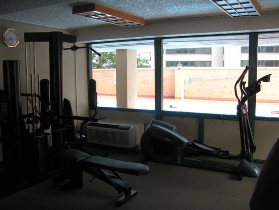 Best Western Grant Park Hotel : Gym equipment didn't work very well