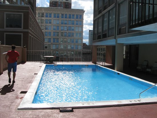Best Western Grant Park Hotel : Pool was cold, but clean