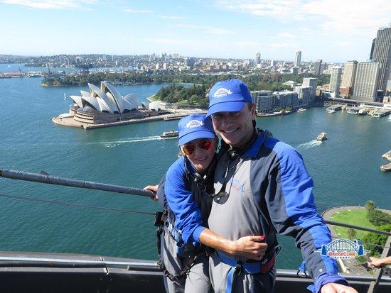 BridgeClimb: Climbing