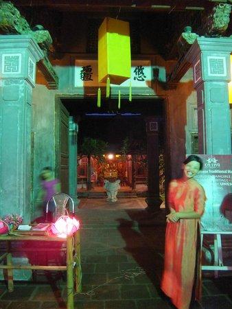 Thang Long Ca Tru Guild: Getting in