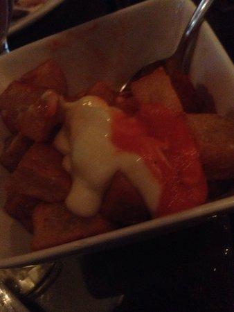 Socarrat Paella Bar: Spicy potatoes