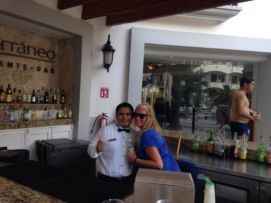 The Royal Playa del Carmen: Best bartender ever