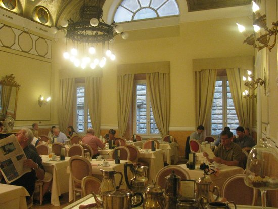 Bernini Palace Hotel : The breakfast room
