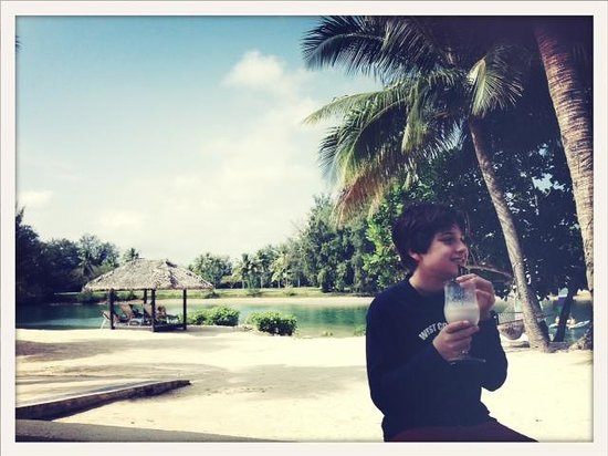 Holiday Inn Resort Vanuatu : Morning tea milkshake...