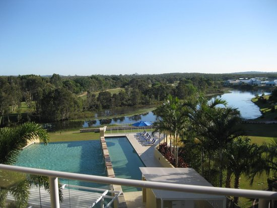 The Sebel Pelican Waters Golf Resort & Spa: View from our room.