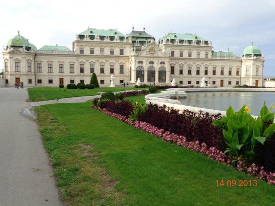 Schloss Belvedere: O palacio