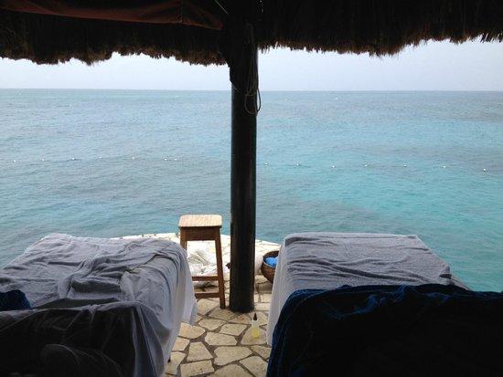 Rockhouse Hotel: Massage Cabana