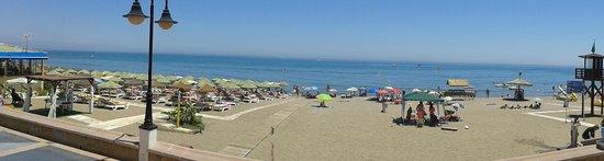 Playa La Carihuela: Panorámica
