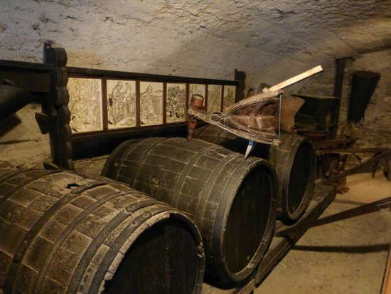 Marksburg: The Wine Press and Barrel Room