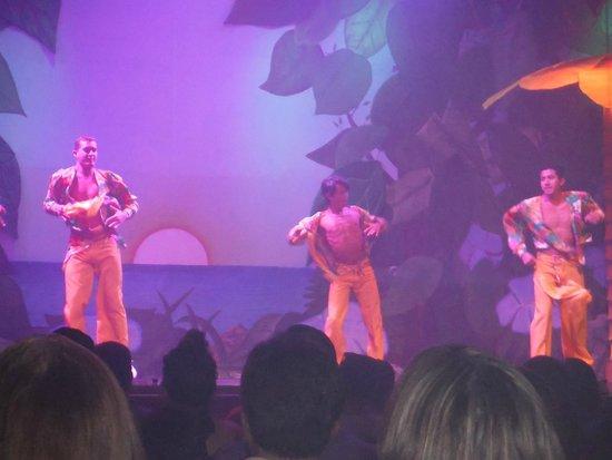 Royal Solaris Cancun: dancers