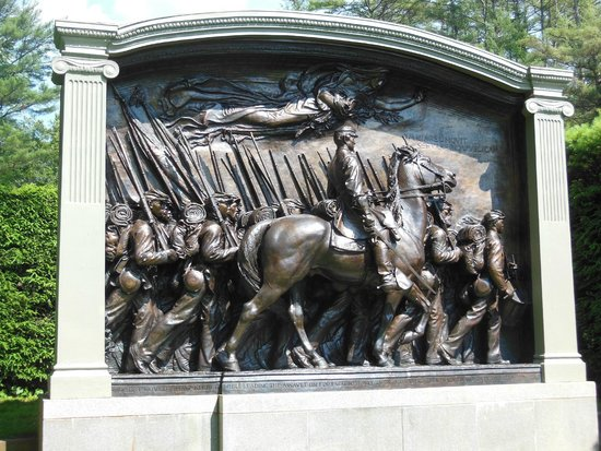 Saint-Gaudens National Historic Site: Shaw Memorial