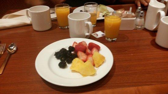 Sheraton New York Times Square Hotel : Desayuno en el hotel