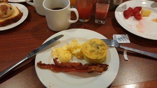 Sheraton New York Times Square Hotel : Espectacular el desayuno bien americano!